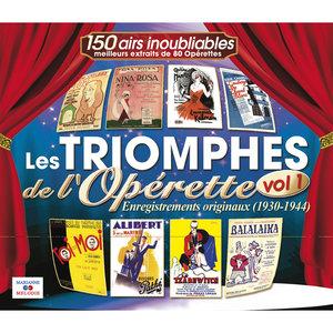 Les triomphes de l'opérette, Vol. 1 (1930-1944) | René Gerbert