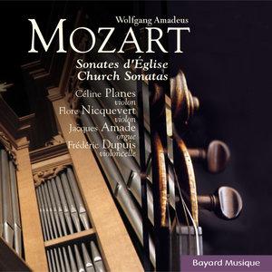 Mozart: Sonates d'église pour orgue et cordes (Collection Elévation) | Jacques Amade