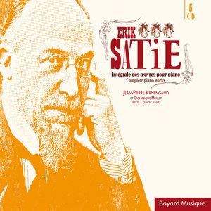 Satie: Intégrale des oeuvres pour piano (Complete Piano Works) | Dominique Merlet