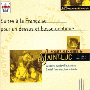 Saint-Luc : Suites à la française pour un dessus et basse-continue | Jacques Vandeville