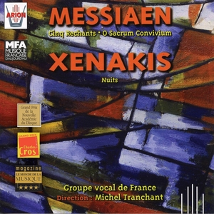 Messian : Cinq Rechants - Xenakis : Nuits | Groupe Vocal de France