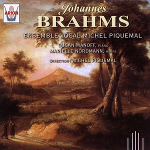 Brahms : Ensemble Vocal Michel Piquemal | Susan Manoff
