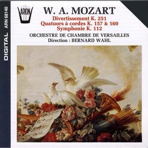Mozart : Divertissement, Quatuors à cordes, Symphonie | Orchestre de Chambre de Versailles