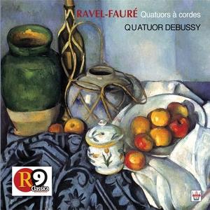 Ravel  Fauré : Quatuors à cordes | Le Quatuor Debussy