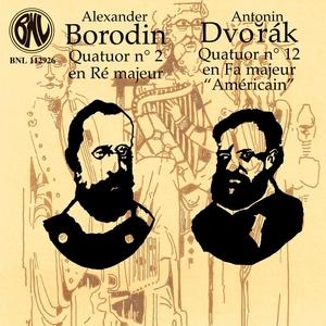 Dvořák & Borodin: Quatuors à cordes | Patrice Legrand