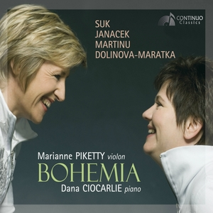 Bohemia: Suk - Janáček - Martinů - Dolinova - Maratka | Dana Ciocarlie