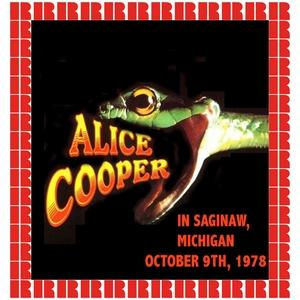 Saginaw, Michigan, October 9, 1978   Alice Cooper
