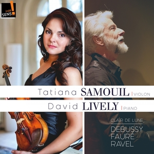 Debussy, Fauré, Ravel: Clair de lune | David Lively