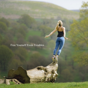 Free Yourself from Troubles   Healing Sounds for Deep Sleep and Relaxation