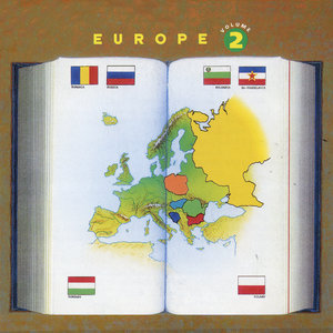 Europe Vol. 2: Rumania, Russia, Bulgaria, Yiddish, Ex-Yugoslavia, Hungary, Tzigane, Poland   Micha Nisimov