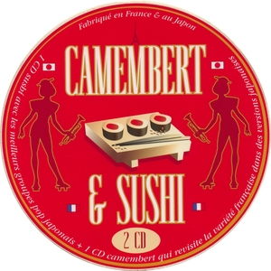 Camembert et sushi   Les Cappuccino