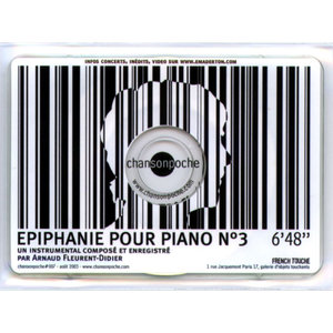 Epiphanie pour piano n°3 - Single | Arnaud Fleurent-Didier