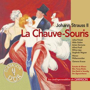 Johann Strauss II: La chauve-souris (Les indispensables de Diapason)   Marianne Schröder