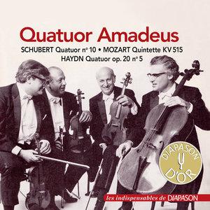 Haydn, Mozart & Schubert: Œuvres avec quatuor à cordes (Les indispensables de Diapason) | Amadeus Quartet