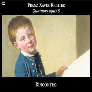 Richter: Quatuors opus 5 | Rincontro