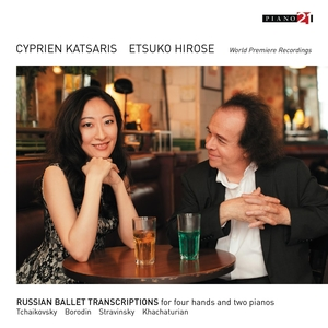 Russian Ballet Transcriptions for Four Hands and Two Pianos   Cyprien Katsaris