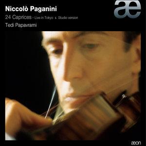 Paganini : 24 Caprices (Live in Tokyo & Studio Version) | Tedi Papavrami
