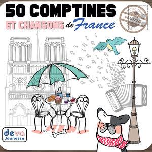 50 comptines et chansons de France | Marie-Claude Clerval