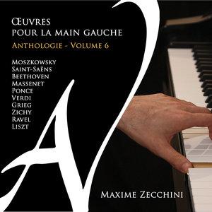 Œuvres pour la main gauche - Anthologie, Vol. 6 | Maxime Zecchini