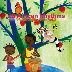 26 African Rhythms for the Little Ones, Vol. 2 | Marlène N'garo