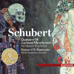 "Schubert: Quatuor No. 14 ""La Jeune Fille et la mort"" & Quatuor No. 13 ""Rosamunde"" (Les indispensables de Diapason) 