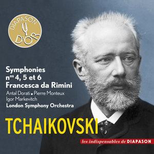 Tchaïkovski: Symphonies Nos. 4, 5 et 6 & Francesca da Rimini (Les indispensables de Diapason)   London Symphony Orchestra