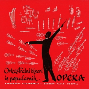 Orkestralni Biseri Iz Popularnih Opera   Orkestar Zagrebačke Filharmonije