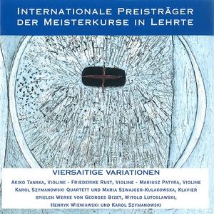 Internationale Preisträger der Meisterkurse in Lehrte - Viersaitige Variationen | Mariusz Patyra