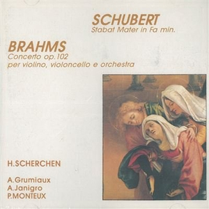 Franz Schubert, Johannes Brahms: Stabat Mater, Concerto Op. 102 |