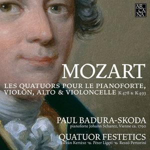 Mozart: Piano Quartets, K. 478 & K. 493 | Paul Badura-Skoda