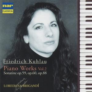 Friedrich Kuhlau: Piano Works, Vol. 2 | Loredana Brigandì