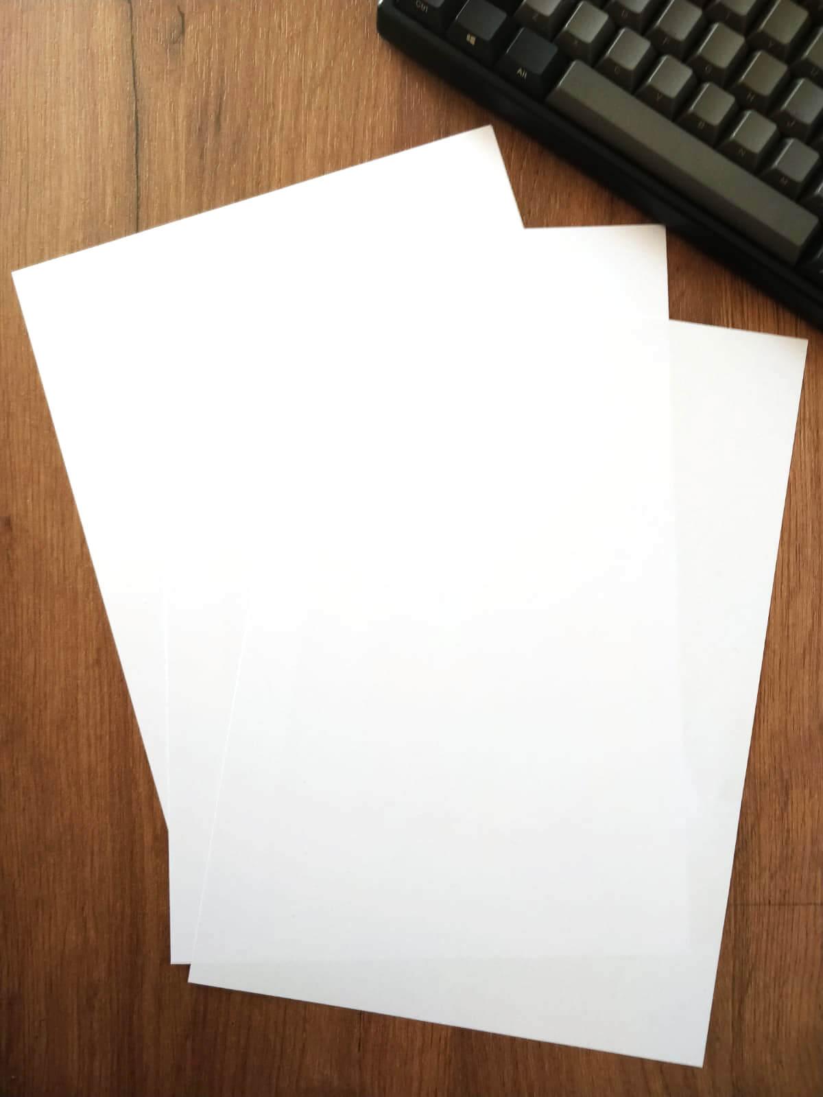 Clean White Paper - OK