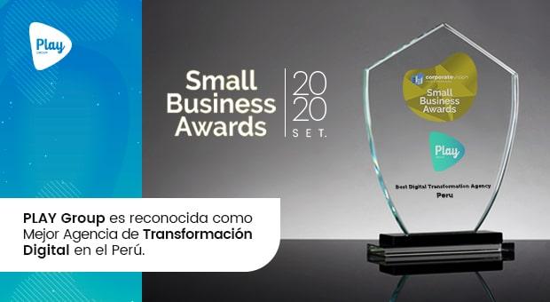 PLAY Group es reconocida como Mejor Agencia de Transformación Digital