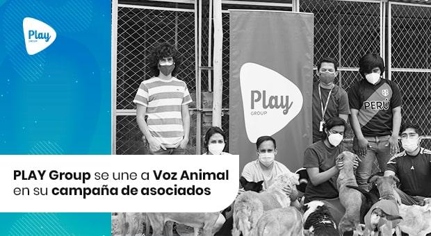 PLAY Group se une a Voz Animal en su campaña de asociados