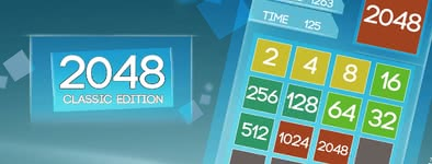 Play free game 2048 Classic edition