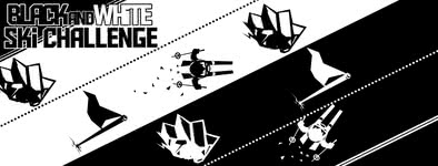 Play free game Black & White Ski Challenge