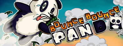 Play free game Bounce bounce Panda