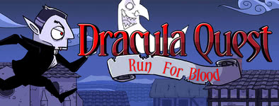 Play free game Dracula Quest : Run For Blood