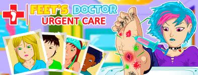 Play free game Feet's Doctor : Urgency Care