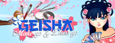 Play free game Geisha make up and dress up