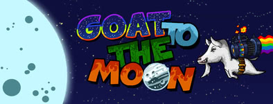 Play free game Goat to the moon