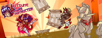 Play free game Kitsune power destruction