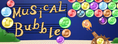 Play free game Musical Bubble