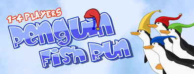 Play free game Penguin Fish Run