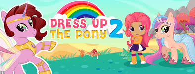 Play free game Pony Dress Up 2