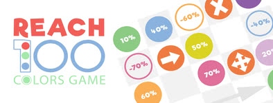 Play free game Reach 100 : Colors Game