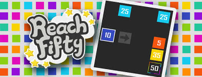 Play free game Reach Fifty