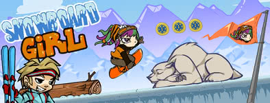 Play free game Snowboard Girl