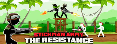 Play free game Stickman Army : The Resistance