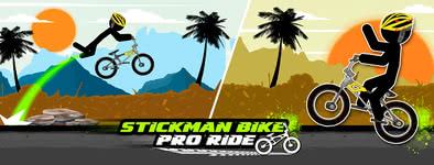 Play free game Stickman Bike : Pro Ride